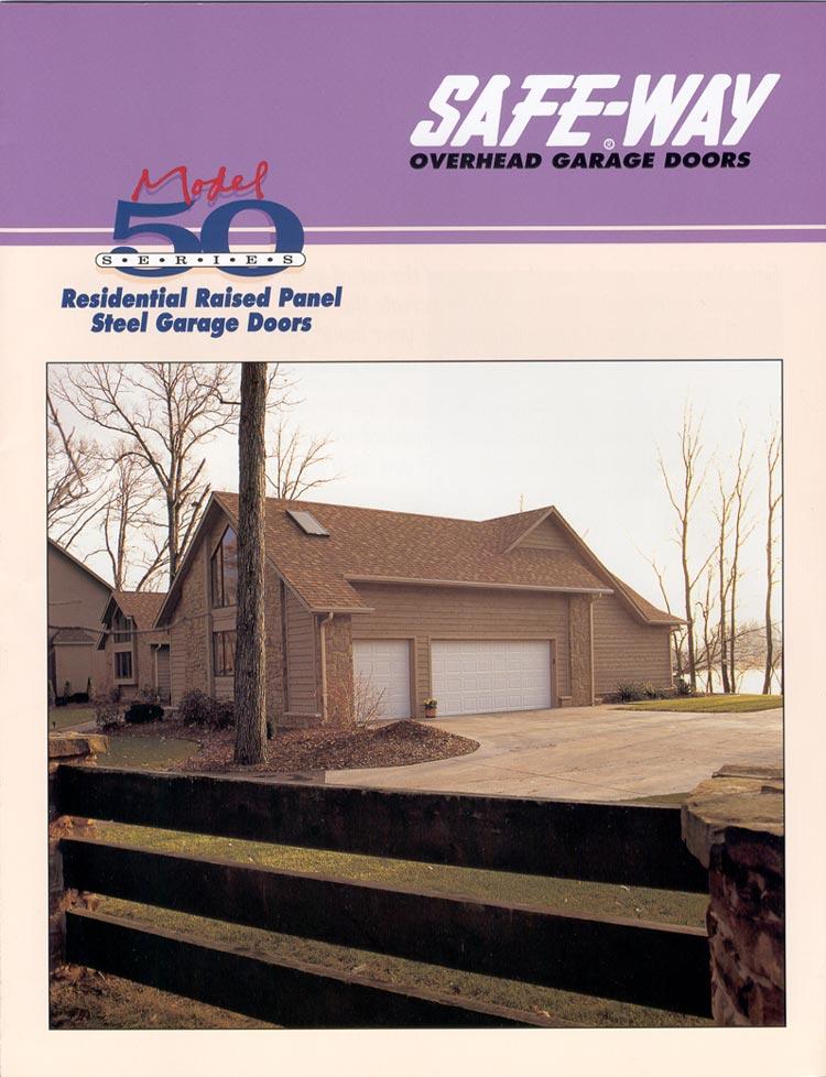 Series 50 Overhead Garage Doors Specifications Michiana